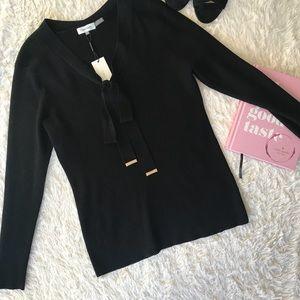 NWT Calvin Klein Corded Sweater